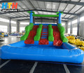 2017 adventurous giant inflatable water slide for sale