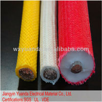 Silicone Rubber Insulated and Braided Wire