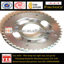 stable quality for Rear wheel sprocket, zongshen motorcycle sprocket part,PSH brand motorcycle sprocket and chain part