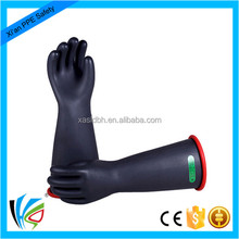 30KV Electrical Rubber Latex Insulating Gloves Made in China