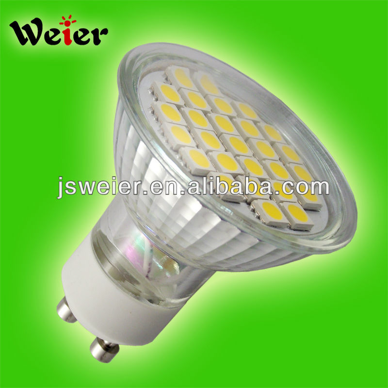 high brightness smd gu10 5050smd 230v 27leds