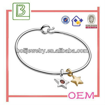 Fashion Bangle/ Bracelet with Crystal Star