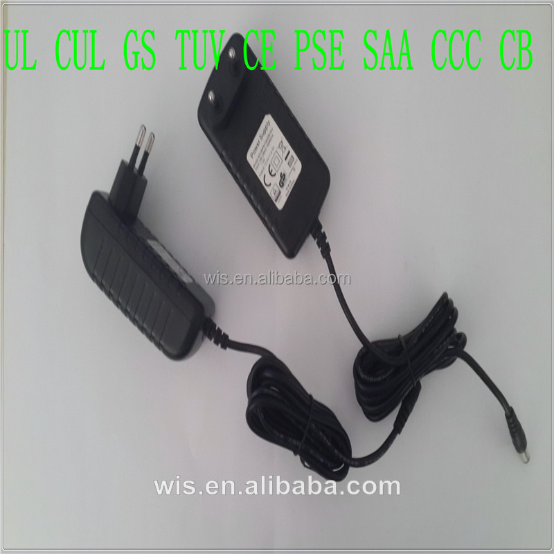 Wiscon enterprise 18v dc 400ma ac adapter power supply hs code