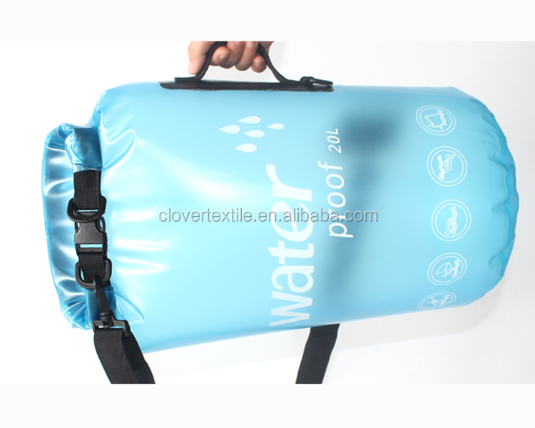 OEM Transparent Dry Bag Waterproof Bag Backpack for Packing Luggage