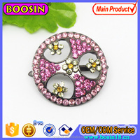Fashion Imitation Shoe Flower Rhinestone Custom Shoe Accessories Decoration#406