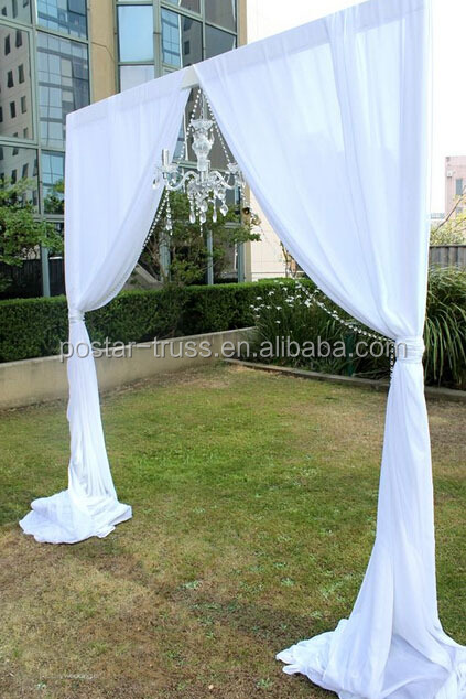 lightweight aluminum frame wedding backdrops for sale buy wedding backdrops for sale wedding. Black Bedroom Furniture Sets. Home Design Ideas