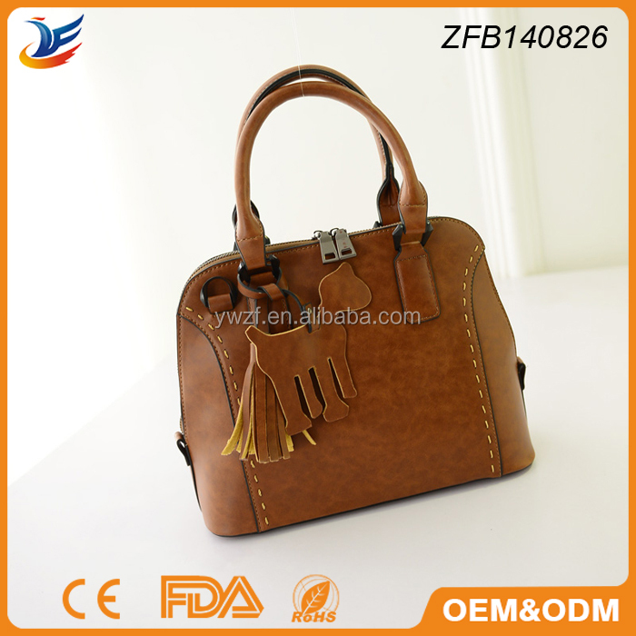 designer handbag large stock 100% Genuine Leather high quality lady handbags