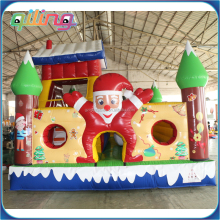 Christmas inflatable fun land fun city for kids commercial party rental hire