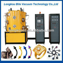 Gold Plating Imitation jewelry gold coating machine
