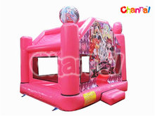 Top Quality Inflatable Pink Jumper Bounce For Kids