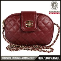2016 Hot selling new design chinese cheap women leather handbag factory authentic designer handbag wholesale