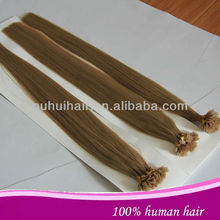 100% silky straight keratin u tip 26 inch human hair extensions