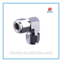 high pressure forged stainless steel 316 right angle union pipe fittings for tube connect