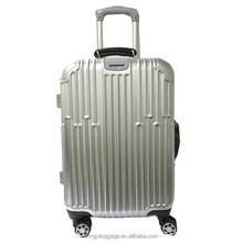 PC luggage 360 degree wheel trolley case suit Factory hard shell travel travelling case