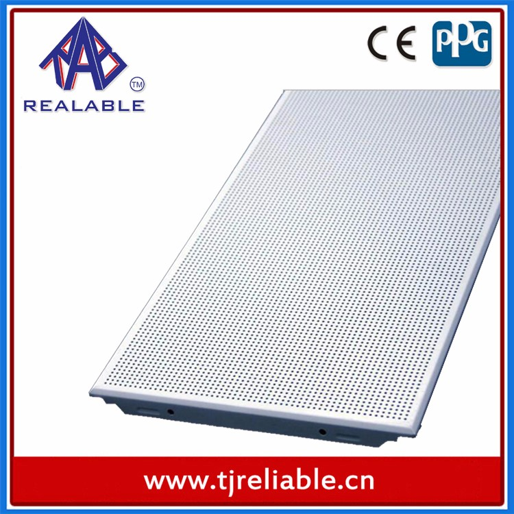 2016 Ceilings Decorative Roof Aluminium Perforated Panels