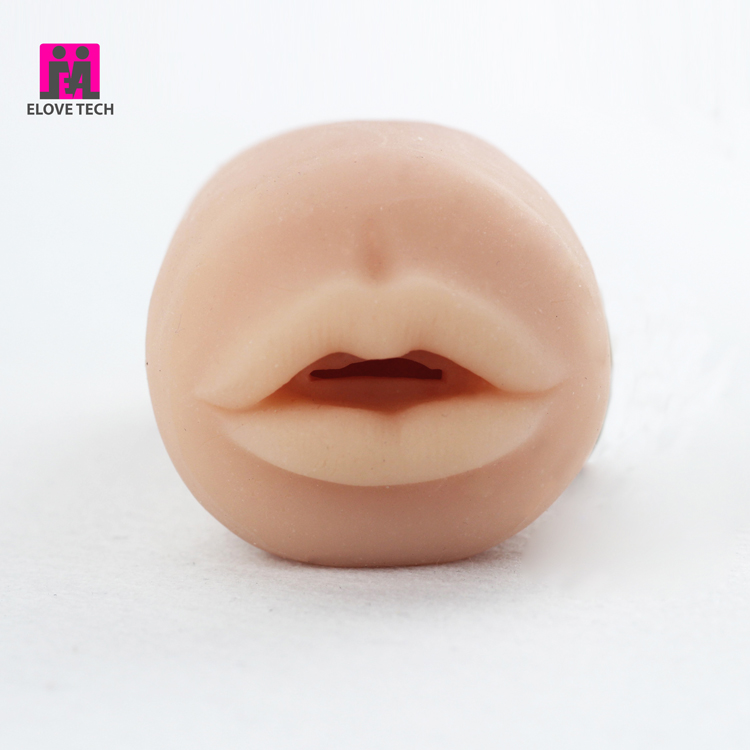 pocket pussy lifelike realistic lips throat blow job oral sex tongue adult toys sex toys masturbation for man factory price oem