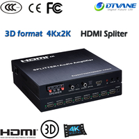 HDMI 1.4 version Splitter hdmi cctv video distribution 8 output Spliter