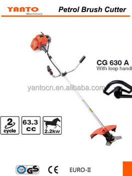 Strong Petrol brush cutter Strimmer 62cc