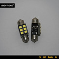 canbus car light 2835 6smd 32 36 39 42mm error free festoon lighting car lights led