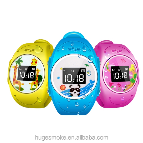 One Key for Mornitoring Recall Q90 Kids Cell Phone Watch IP68 Waterproof Kids Watch Voice Recorder