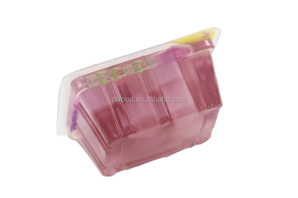 mini gelatin jelly Fruity flavor fruit jelly snack