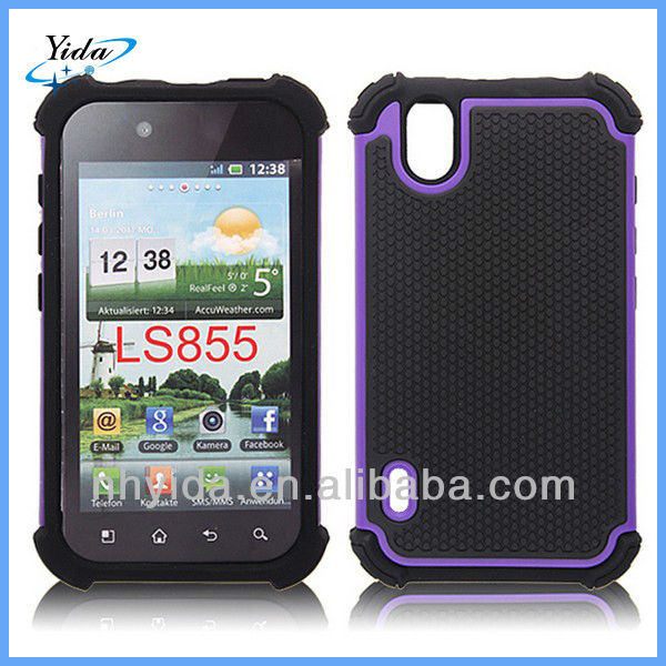 3 In 1 Rugged Case Cover For LG P970 Defender Phone Case For LG P970
