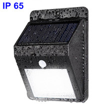 New Coming IP65 Small Solar Security Led Solar Motion Sensor Light