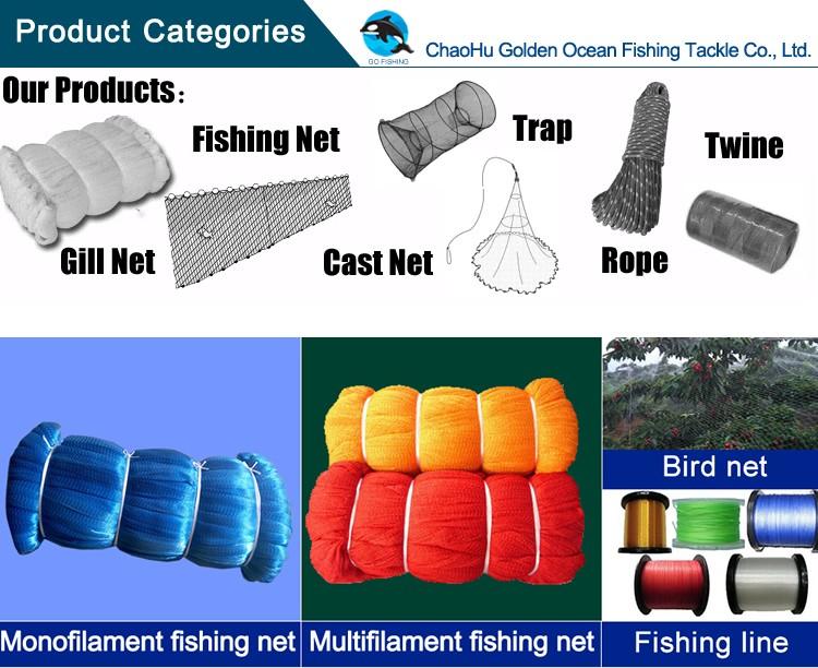 прочность рыболовных сетей