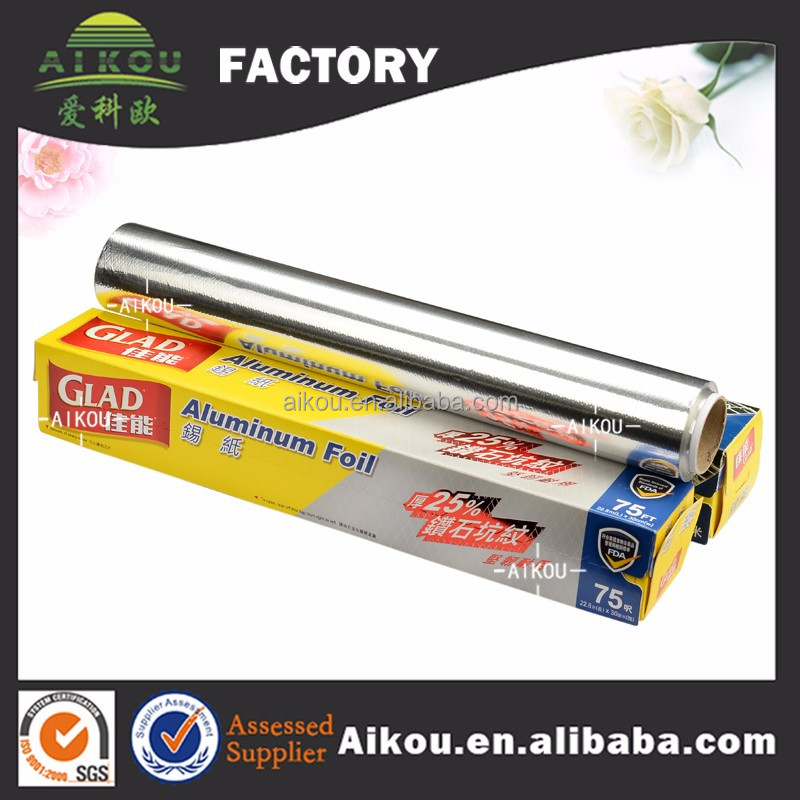 High quality fireproof roast baking use wholesale aluminium foil