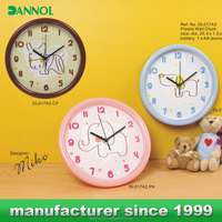 "10"" cheap plastic wall clocks clock inserts m2188"