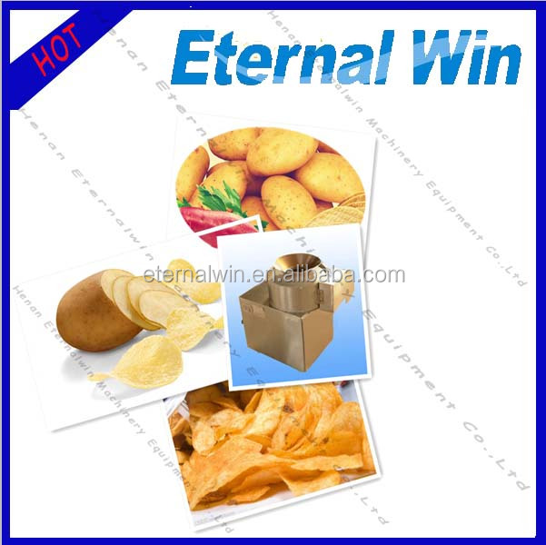 Potato french chips frying machine / fried potato chips making machine