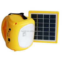 2015 Best Selling 1W LED Rechargeable Solar Lantern Light With FM Radio