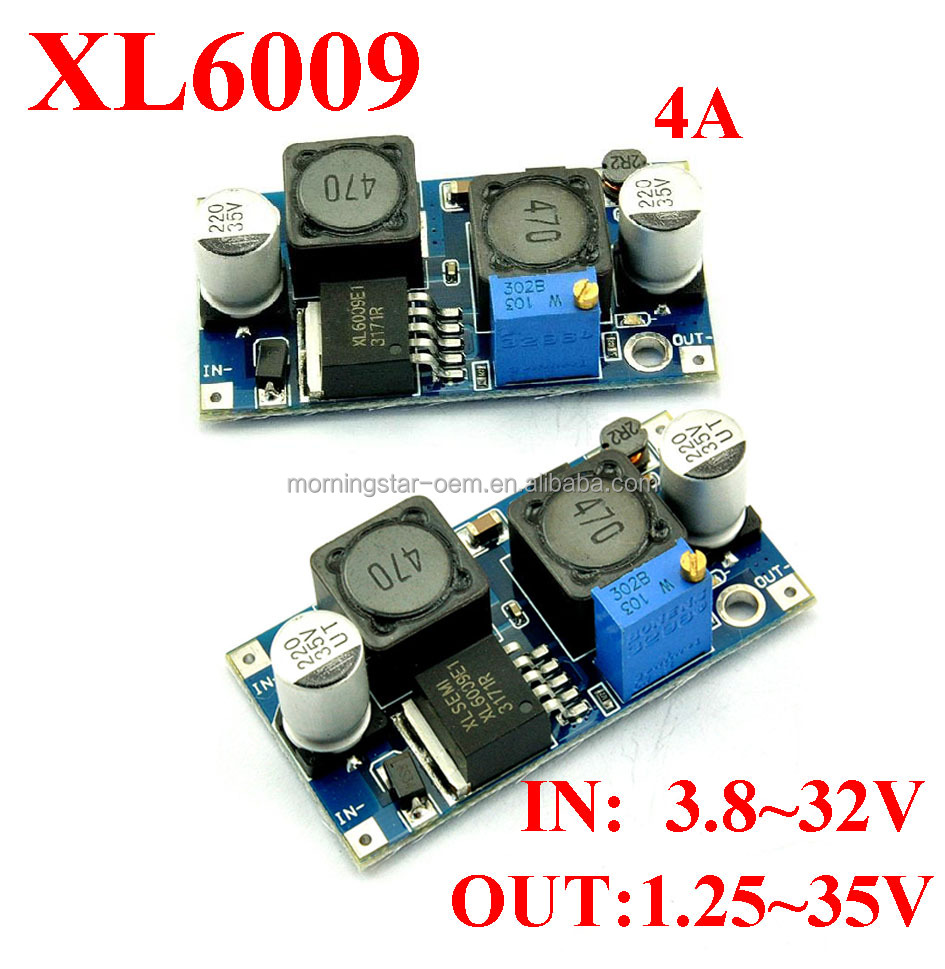 Customize atuomatically step up and down voltage converter dc3.8-32v 3A to 1.25-35V 24v to 12v to 5v for solar panel wind energy