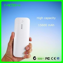 Mobile phone accessories,portable mobile power supply ,15600mah external battery