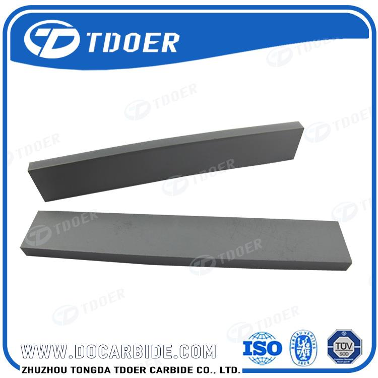Hip sintered tungsten carbide strips