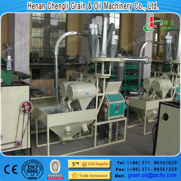 mini home used wheat flour milling machine for sale