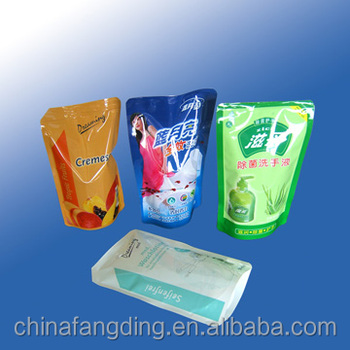 agriculture plastic packaging pouch