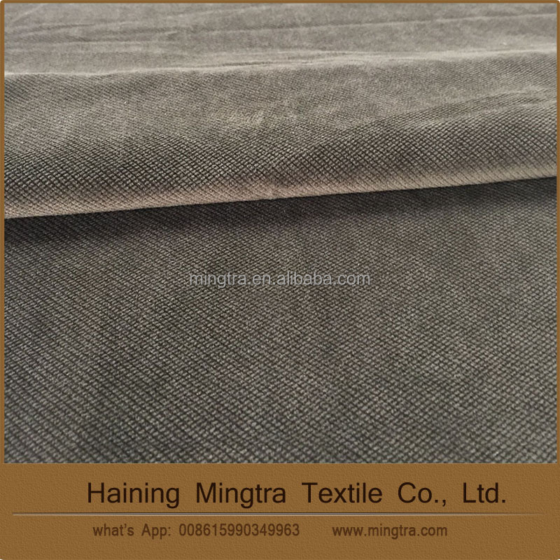 High quality best price 100% polyester velvet burnout home textile