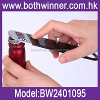 Metal card bottle opener ,H0T059 winged corkscrew for sale