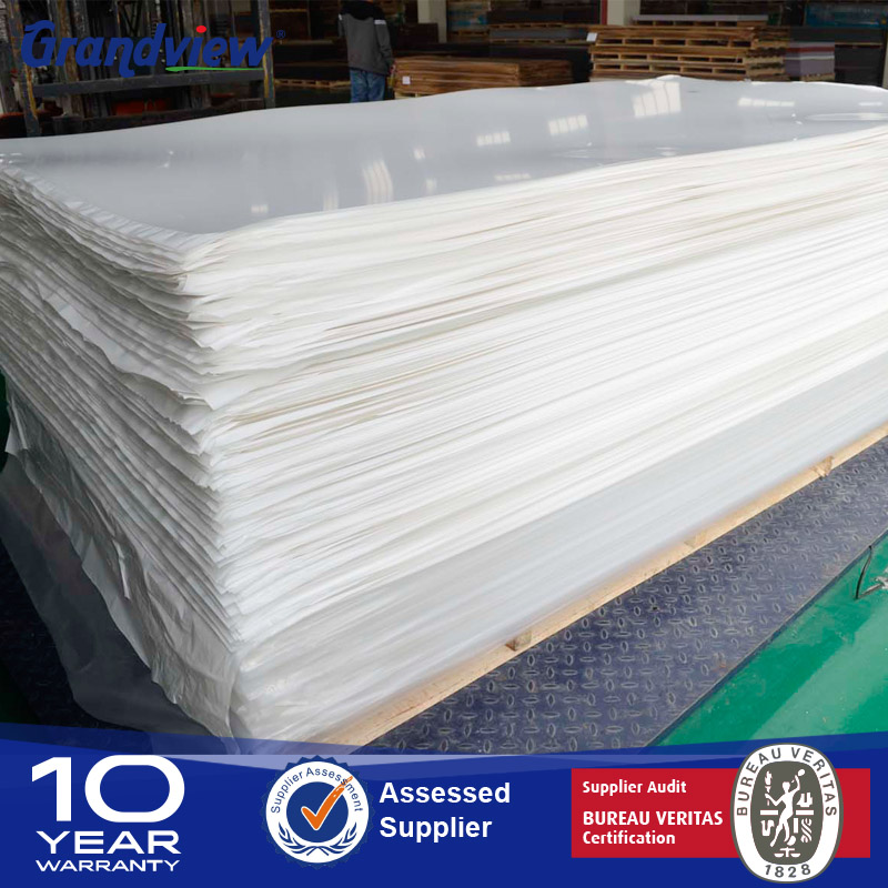 18mm milky white heat resistant plastic acrylic sheet