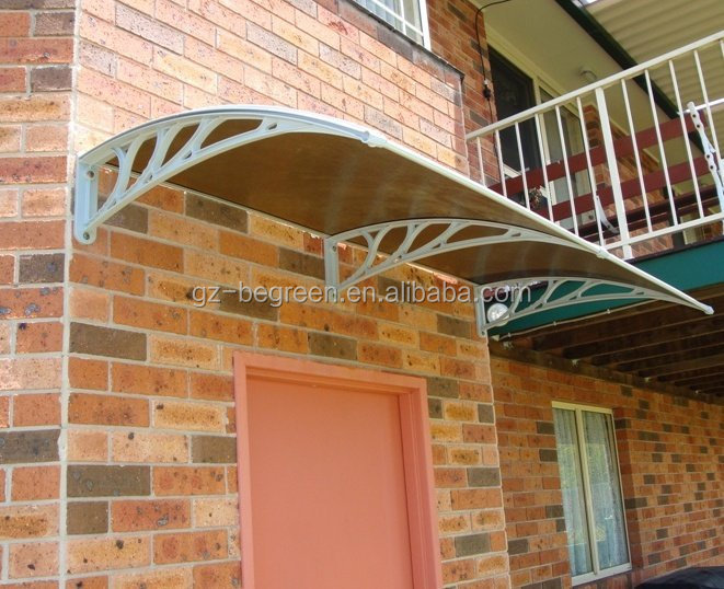 DIY Large Polycarbonate Outdoor Metal Canopy