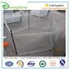 Galvanized safety swimming pool fence