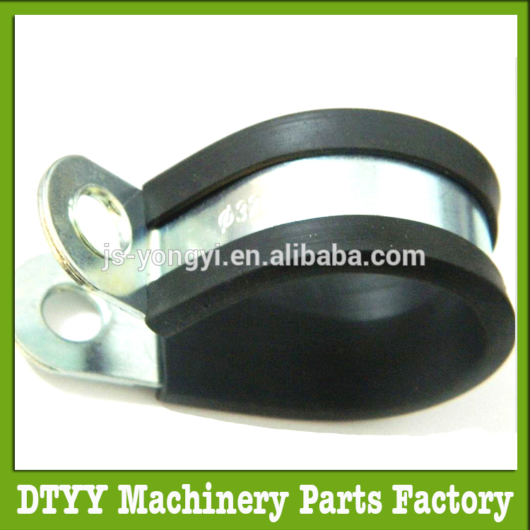 Factory price rubber coated and hinged hose clamps OEM