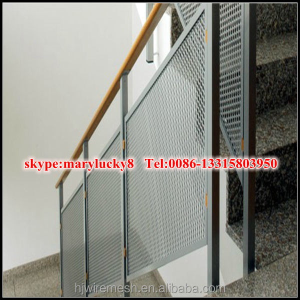 Powder Coated Expanded Metal For Balcony Railing Buy