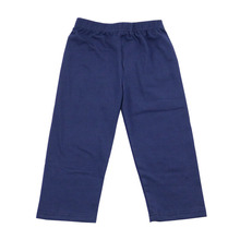 pure colorful cotton plain trousers kids wide boutique knit leg pants boys pants