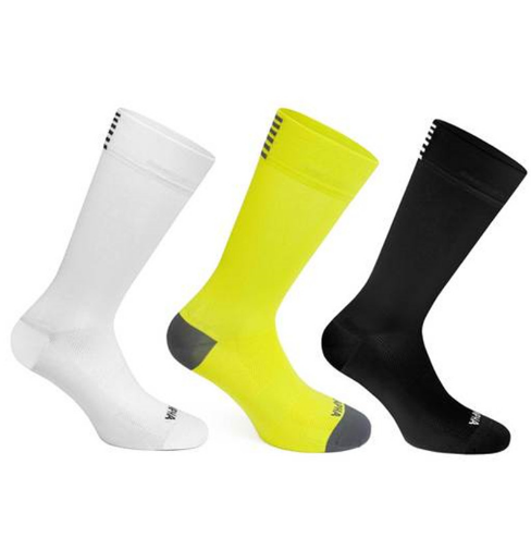 Factory supplier wholesale custom thigh high men cycling socks