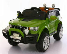 High quality battery operated power wheels baby ride on toy car jeep 12v electric car children