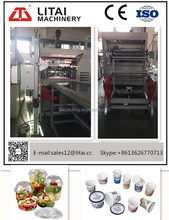 Plastic Thermoforming Machine Processing Type and Plastic Cup Product Type machine to make plastic cup with lid