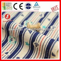 wholesale wicking yarn dyed feeder stripe knitted fabric for garment