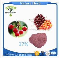 Nutraceutical Ingredient 17% 25% Vitamin C Acerola Cherry Extract